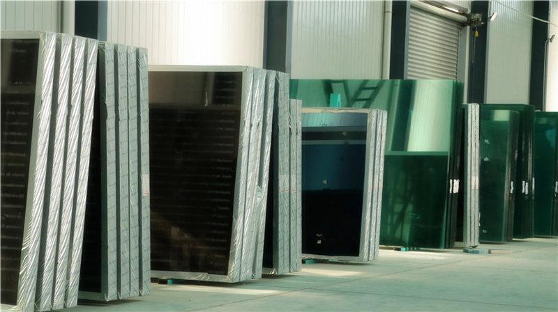 秦明节能玻璃产品展示