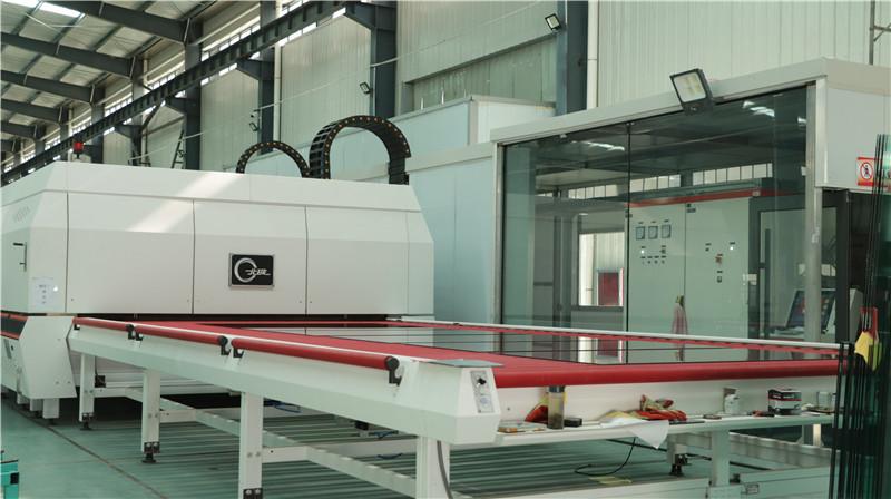 秦明节能玻璃产品生产设备